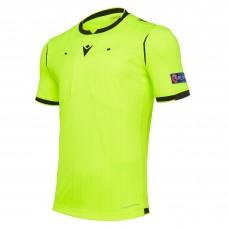 REFEREE neon yellow shirt uefa SS