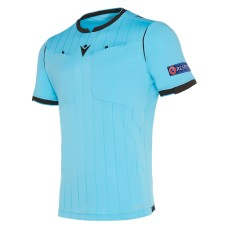 REFEREE neon blue shirt uefa SS