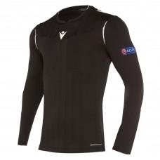 REFEREE black shirt uefa LS