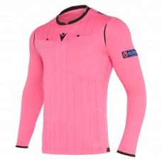 REFEREE neon rose shirt uefa LS