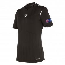 REFEREE black shirt uefa SS women