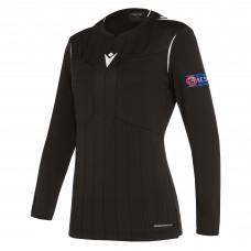 REFEREE black shirt uefa LS women