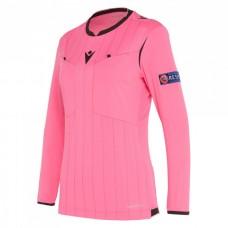 REFEREE neon rose shirt uefa LS women