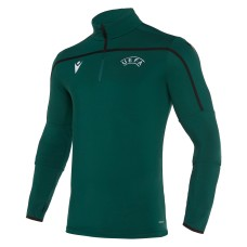 REFEREE Uefa 1/4 zip training top